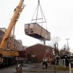 Modular Building Medical Suites Transport installation