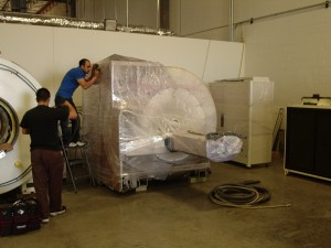 GE MRI Cold Storage